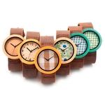 montre bois coloré