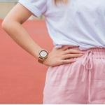 montre bois chronographe - Shiny