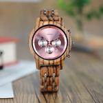 montre bois chronographe - Shiny 2