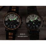 montre bois chronographe aviateur 2