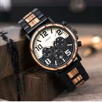 montre bois chronographe aviateur 4