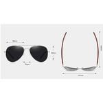 lunettes bois aviateur dimensions