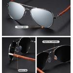 lunettes bois aviateur