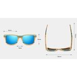 lunettes bois freestyle dimensions