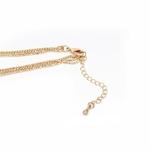 chaîne de collier avec longueur ajustable