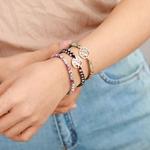 bracelet arbre de vie jaspe porte