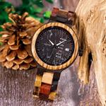 montre en bois rustic color