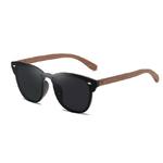 lunettes en bois clubmaster miroir personnalisables 7