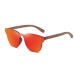 lunettes en bois clubmaster miroir personnalisables 4
