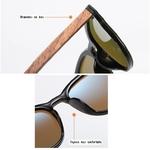 lunettes en bois clubmaster miroir personnalisables 3