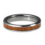bague en bois ou alliance en bois femme 4mm simplicite