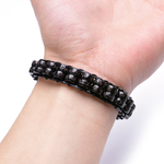 Bracelet-de-perles-tresse-main-coquille-de-noix-de-coco-naturelle-pendentif