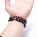 Nouvelle-Mode-En-Bois-Naturel-Perl-Charme-Bracelet-Extensible-Pour-Homme-Femmes-Chanceux-Fait-Main-Gu