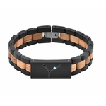 bracelet bois personnalisé constellation signe zodiaque ascendant homme ou femme cadeau