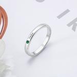 Bijoux-en-argent-Sterling-925-anneau-de-nom-personnalis-avec-pierre-de-naissance-nom-personnalis-grav
