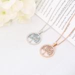 Nouveau-Design-bijoux-en-argent-ensembles-pour-femmes-bleu-CZ-collier-ras-du-cou-Bracelet-r