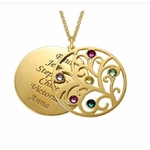 Filigrane-famille-arbre-de-vie-pendentif-collier-pierres-de-naissance-personnalise-prenoms-bijoux