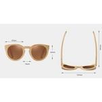 lunettes en bois oeil de chat bambou dimensions
