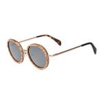 lunettes en bois vintage verres gris arbrobijoux