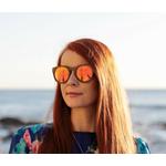 lunettes de soleil bois femme arbrobijoux modèle owl
