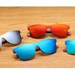 lunettes en bois wayfarer mirror collection arbrobijoux