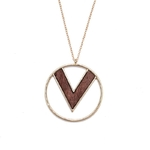 ENZE-mode-femmes-bijoux-mode-nouveau-rond-de-bois-V-alphabet-boucles-d-oreilles-ornements-simple