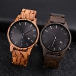 DODO-cerf-bois-montre-hommes-mode-Date-affichage-en-bois-montres-chronographe-militaire-Quartz-montres-papier
