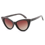 lunettes en bois cat eyes oeil de chat bambou degradé brun femme arbrobijoux