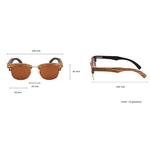 lunettes en bois clubmaster caracteristiques techniques