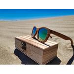 lunettes soleil en bois intemporel zebra arbrobijoux low