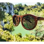lunettes en bois owl bambou noir arbro slow