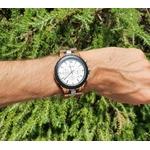 montre en bois chronographe solaris arbrobijoux