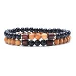 Hommes-Bracelet-en-bois-naturel-perle-tib-tain-bouddha-Bracelet-Chakra-m-ditation-diffuseur-Bracelets-hommes