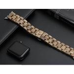 bracelet en bois de zèbre pour iwatch