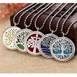 collier pendentif couleur changeable aromathérapie