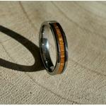 alliance en bois 4 mm simplicité arbrobijoux
