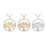 sautoir arbre de vie 3 couleurs