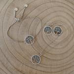 Parure de bijoux arbre de vie