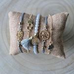 Bracelet arbre de vie et perles