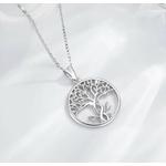 Pendentif symbole arbre de vie bijou femme argent