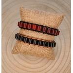 Bracelet homme tendance en bois