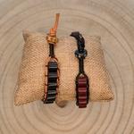 Bracelet homme tendance bois