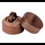 Boite en bois pour bague en bois