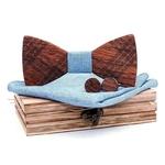 Noeud papillon burberry bleu ciel