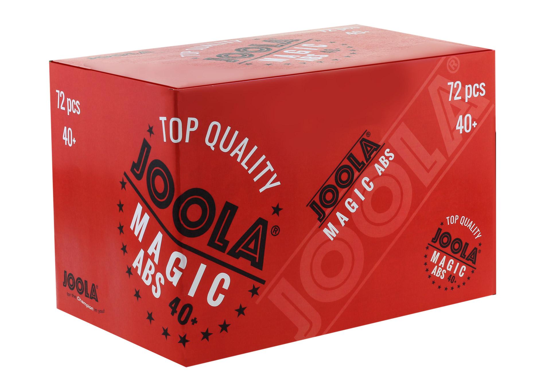 JOOLA MAGIC ABS 40+ 72PCS