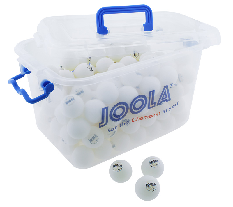 JOOLA MAGIC ABS 40+ WHITE 144PCS