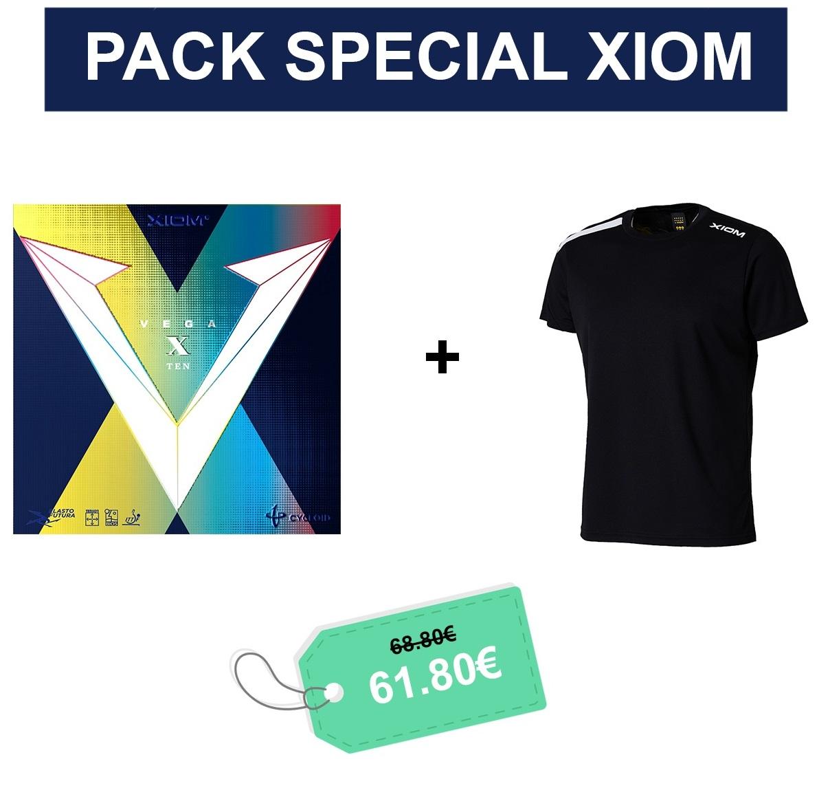 PACK SPECIAL XIOM VEGA X + TSHIRT SAM