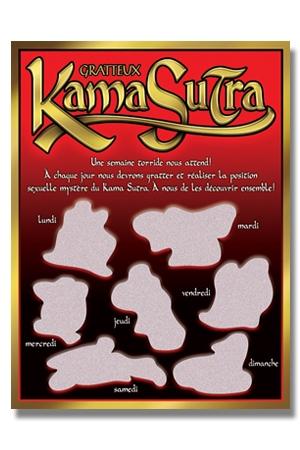 Carte à gratter Kama Sutra