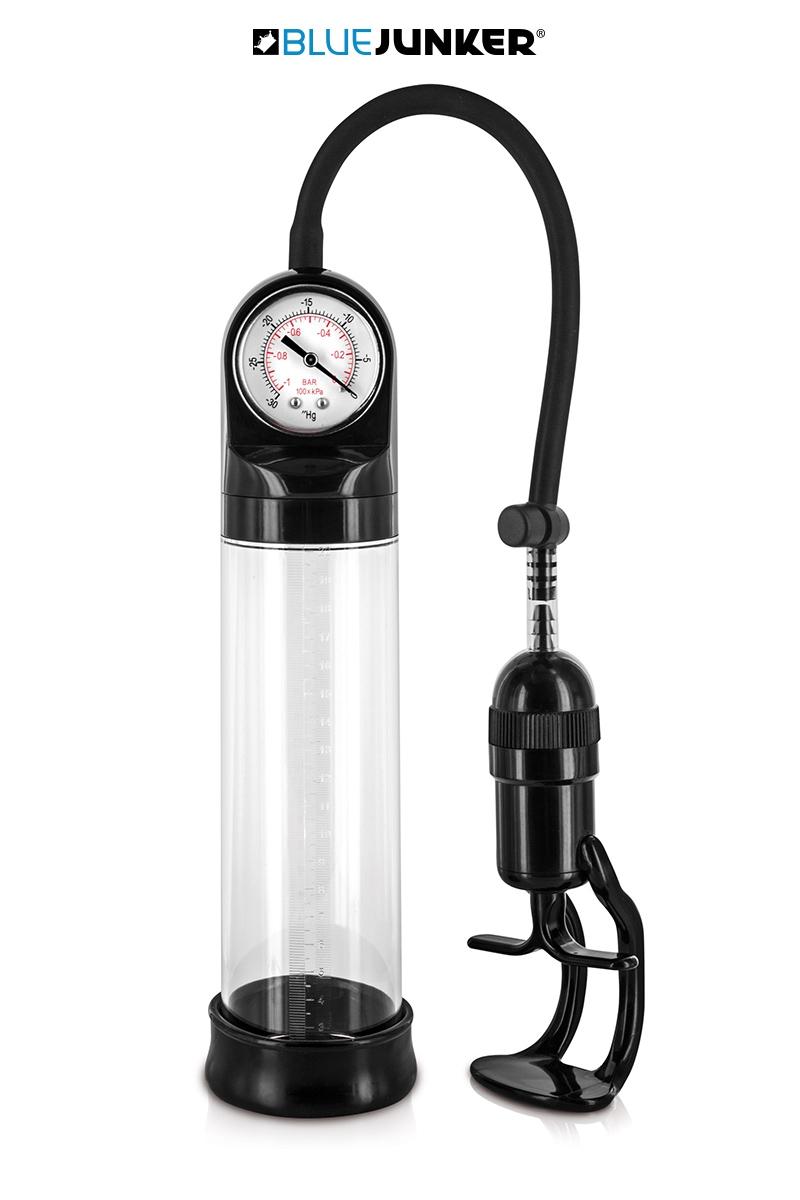 Pompe à pénis avec manomètre