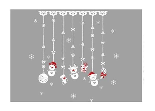 Stickers Suspensions Noël